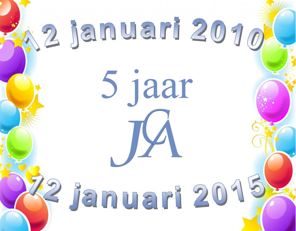5 jaar JCA